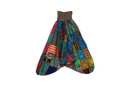 sarouel patchwork