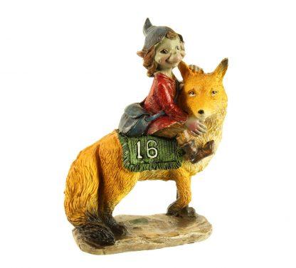 Lutin sur renard