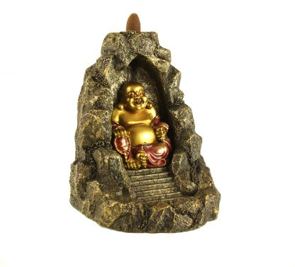 Bouddha fontaine reflux