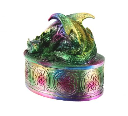 Dragon sur une boîte